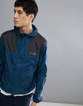 The North Face 1985 Mountain Jacket Hooded 2 Tone In Blue