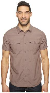 Prana Ostend Men's Short Sleeve Button Up