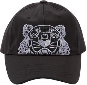 Kenzo Tiger Embroidered Nylon Canvas Hat