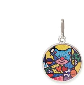 Alex and Ani Friendship Bear Art Infusion Necklace Charm | Romero Britto