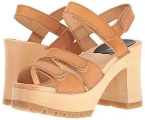 Swedish Hasbeens Velcra High Heels