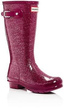 Hunter Girls' Original Glitter Rain Boots - Little Kid, Big Kid