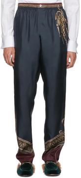 Dolce & Gabbana Green Knight Trousers