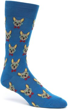 Hot Sox Smart Frenchie Crew Socks