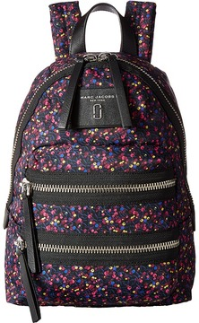 Marc Jacobs Mixed Berries Printed Mini Backpack Backpack Bags - BLUE MULTI - STYLE
