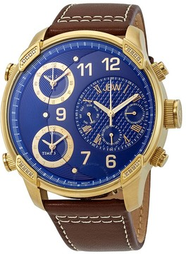 JBW G4 Diamond Blue Dial Men's Watch