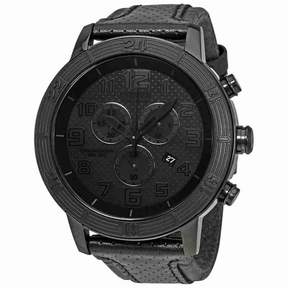 Citizen BRT Eco-Drive Chronograph Black Dial Men's Watch AT2205-01E