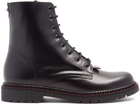 Valentino Lace-up leather boots