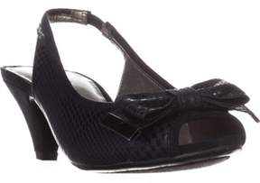 Karen Scott Ks35 Aura Low-heel Sling-back Pumps, Navy.
