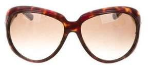Marc Jacobs Tortoiseshell Oversize Sunglasses