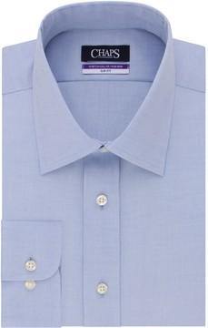 Chaps Men's Slim-Fit No-Iron Stretch-Collar Dress Shirt