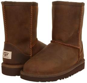 UGG Classic Short Leather Kids Shoes