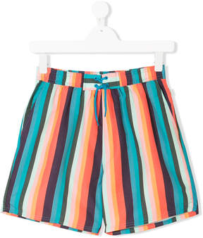Paul Smith TEEN striped swim shorts