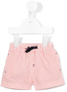 Tartine et Chocolat striped swim shorts