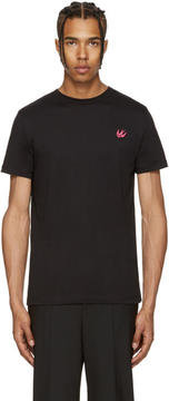 McQ Black Swallow Badge T-Shirt
