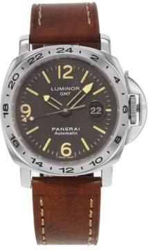 Panerai Luminor GMT PAM00023 Stainless Steel Automatic 43mm Mens Watch