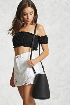 FOREVER 21 Faux Leather Bucket Bag