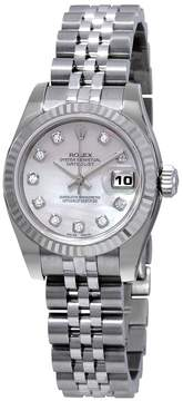 Rolex Datejust 26 Automatic Diamond Ladies Stainless Steel Jubilee Watch