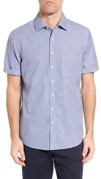 Rodd & Gunn Men's Sullivan Regular Fit Print Sport Shirt