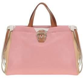 Paula Cademartori Women's Pink Leather Handbag.
