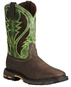 Ariat Men's Workhog Wide Square Toe VentTEK Boot