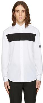 McQ White Shields Pop Shirt