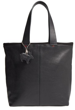 Ed Ellen Degeneres Monterey Leather Tote - Black