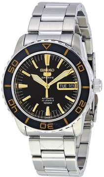 Seiko Fifty Five Fathoms Automatic Black Dial Stainless Steel Men's Watch