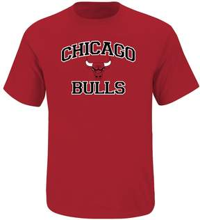 Majestic Big & Tall Chicago Bulls Heart and Soul II Tee