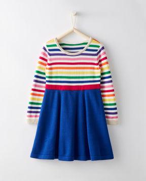 Hanna Andersson Swingskirt Sweater Dress