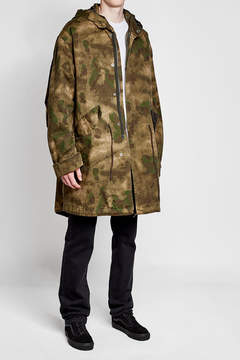 Golden Goose Deluxe Brand Printed Fleece Wool Jacket