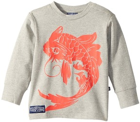 Toobydoo Koi Fish Long Sleeve Tee Boy's Long Sleeve Pullover