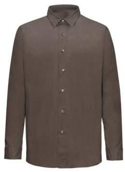 HUGO Boss Cotton Sport Shirt, Relaxed Fit Emilton S Brown
