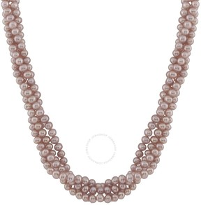 Bella Pearl Pink Freshwater Pearl Necklace