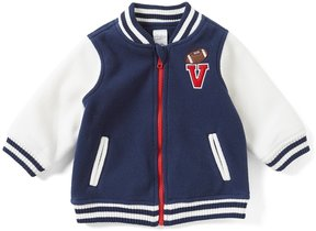 Starting Out Baby Boys 12-24 Months Letterman Patched Jacket