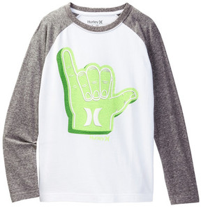 Hurley Long Sleeve Hang Ten Tee (Big Boys)