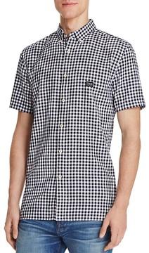 Barney Cools Gingham Regular Fit Button-Down Shirt