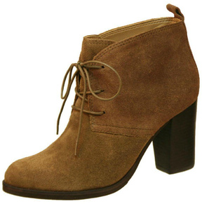Nicole Light Brown Bootie
