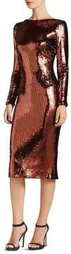 Dress the Population Emery Long-Sleeve Sequin Dress