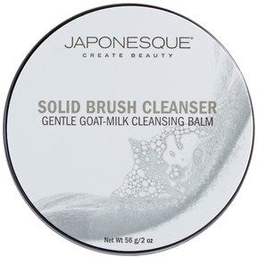 Japonesque Gentle Goat Milk Cleansing Balm Solid Brush Cleanser