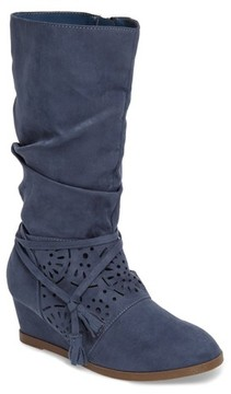 Jessica Simpson Girl's Monterey Slouchy Wedge Boot