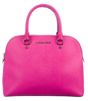 MICHAEL Michael Kors Cindy Medium Saffiano Satchel