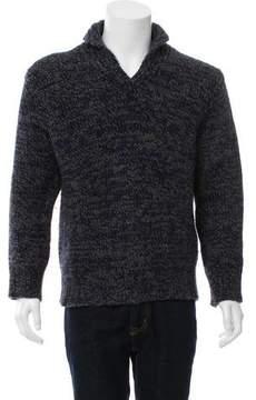 Dries Van Noten Speckled Wool Sweater