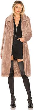 Lovers + Friends Teddy Fur Coat
