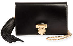 Balmain Leather Pochette Mini Clutch Bag