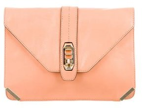 Rebecca Minkoff Love Envelope Clutch - ORANGE - STYLE