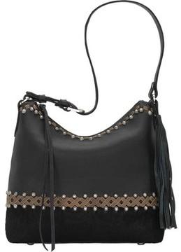 American West Wild Horses Zip Top Shoulder Bag (Women's)