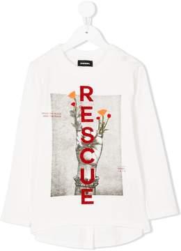 Diesel Rescue graphic T-shirt