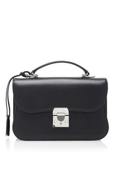 Mark Cross Dorothy Smooth Leather Bag