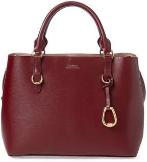 Lauren Ralph Lauren Leather Medium Satchel
